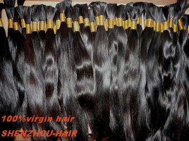 Human Hair Clip In Half Wigs 38